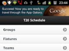 WorldCup T20 2012 Schedule 1.4 Screenshot