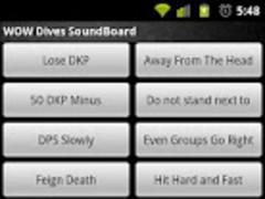 WOW Dives SoundBoard 1.1 Screenshot