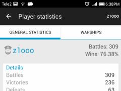 WoWs Analytics 1.0.5 Screenshot
