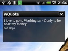 wQuote 0.2 Screenshot
