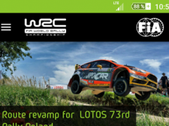 WRC – The Official App 1.2.1 Screenshot