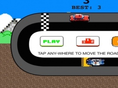 Wrong Side Wrong Lap Pixel Bit Racing Challenge Free Game 1.0 Screenshot