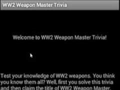 WW2 Weapon Master Trivia 1.3 Screenshot