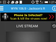 WWYN 106.9 6.23 Screenshot