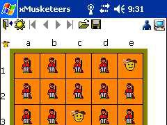 x3 Musketeers for Pocket PC 2.0 Screenshot