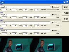 X360 Multiple Video Player ActiveX OCX 3.03 Screenshot