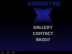 Xadadyne Tablet 1.0 Screenshot