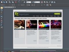 Xara Web Designer 10 Screenshot