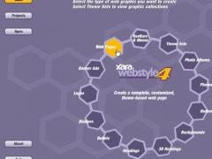 Xara Webstyle 4.0 Screenshot