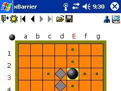 xBarrier for Pocket PC 1.0 Screenshot