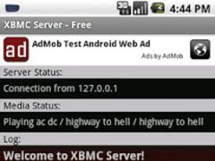 XBMC/Kodi Server (host) - Free 0.3.4 Screenshot