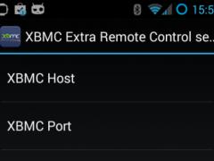 XbmcXtraMote 1.2.2 Screenshot