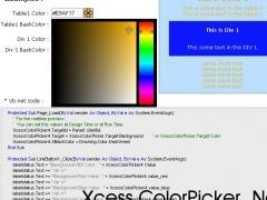 Xcess Color Picker .Net 1.6.0 Screenshot