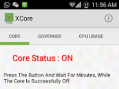 XCore - Save Battery Smartly 3.0.1.2.00 Screenshot