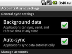 XING Sync 1.0 Screenshot