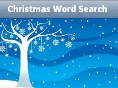 Xmas Word Search 1.0 Screenshot