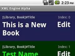 XML Engine Alpha 1.1 Screenshot