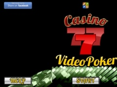 `` A 777 ´´ Aaces Royal Flush VideoPoker 1.0 Screenshot