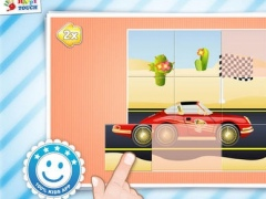 Cars Puzzle - Kids Apps (by Happy Touch Kids Games®) 1.0 Screenshot