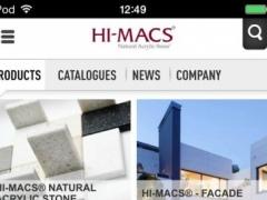 HI-MACS® 1.0.2 Screenshot