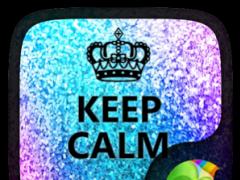 KeepCalm GO Keyboard theme 4.2 Screenshot