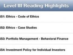 L3 CFA® Exam Notes - Curriculum Written Study Guides 1.1.5 Screenshot