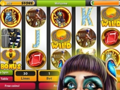 Pharaoh´s Plunder Doubleup Slots Casino - Play Free Ancient Multi Reel Slot Machines Game Tournaments ! 1.0 Screenshot