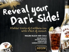Reveal Your Dark Side with Malibu® Black 1.1 Screenshot