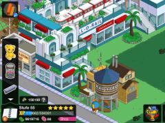 Review Screenshot - Cartoon Game – Help the Simpsons in Rebuilding Springfield