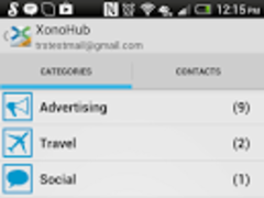 XonoMail BETA- Smart Email App 0.11b Screenshot