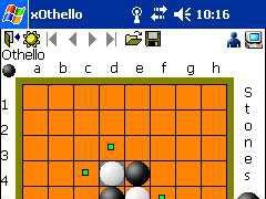 xOthello for Pocket PC 1.1 Screenshot