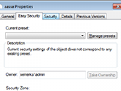 XP Home Permissions Manager 2.5 Screenshot