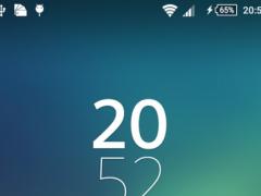XPERIA Flyme OS theme 1.0 Screenshot