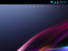 Xperia Go Launcher EX Theme 2.0 Screenshot