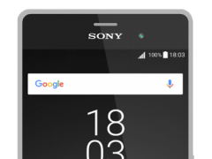 Xperia™ Theme - Black flat 1.0.0 Screenshot