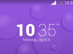 Xperia Theme - Bubble Duck 1.0.0 Screenshot
