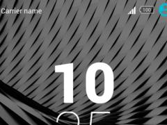 Xperiaz Free Theme -Black Noir 1.0.1 Screenshot