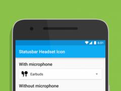 [XPOSED]Statusbar Headset Icon 1.1.3 Screenshot