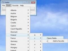 xradio 0.7.3 Screenshot