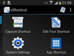 xShortcut FREE 2.0.2 Screenshot
