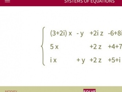 xSolve - Advanced Equation Solver 2.1 Screenshot