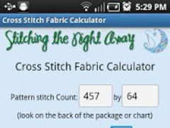 XStitch Fabric Calculator Pro 1.0 Screenshot
