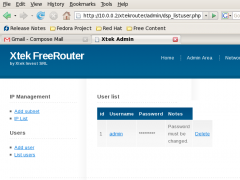 XtekRouter Free 1.0 Screenshot