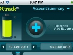 Xtrack - The Expense Tracker Lite 2.2.2 Screenshot