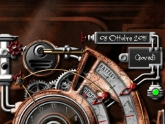 XtraOClock Steampunk Widget 1.6.4.5 Screenshot