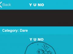 Y U NO - Random activities 1.0.1 Screenshot