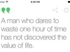 YA Quote 1.0 Screenshot