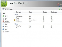 Yadis! Backup 1.10.19 Screenshot