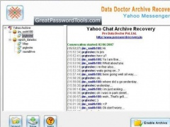 Yahoo Chat Archive Decoder 2.0.1.5 Screenshot