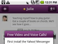 Yahoo! Messenger Plug-in 1.6.1 Screenshot